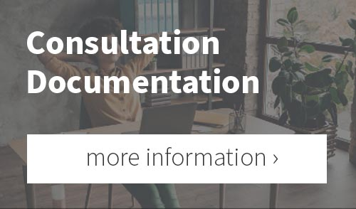 Reference to further information about the consultation documentation tool of the Bridge video conferencing software