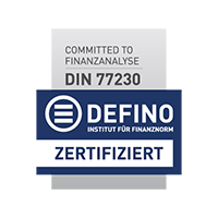 DEFINO certificate of our video conferencing software Bridge