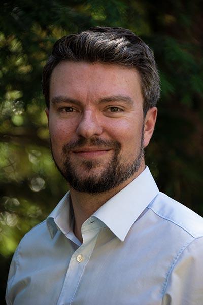 Dr. Frederick Steinke vom Bridge Team