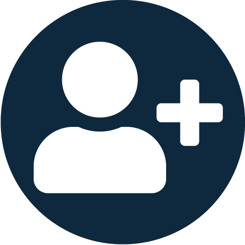 Icon showing your advantage with Bridge: digital and personal consulting